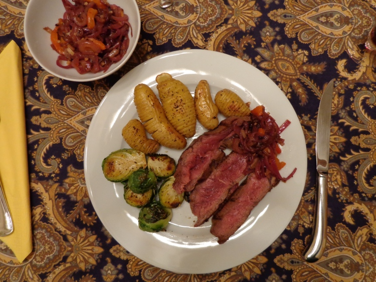 Seared Steak from Chef's Table cooked by Deborah Cooke