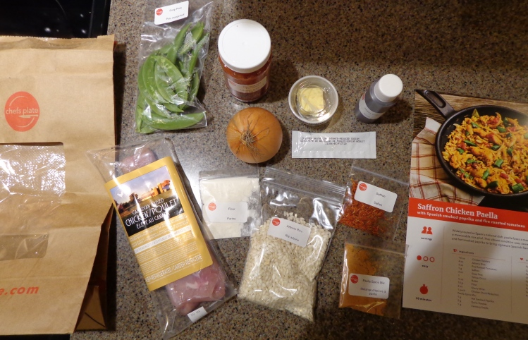 Chef's Table, ingredients
