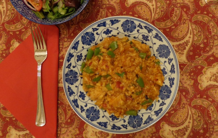 Spanish Paella from Chef's Table made by Deborah Cooke