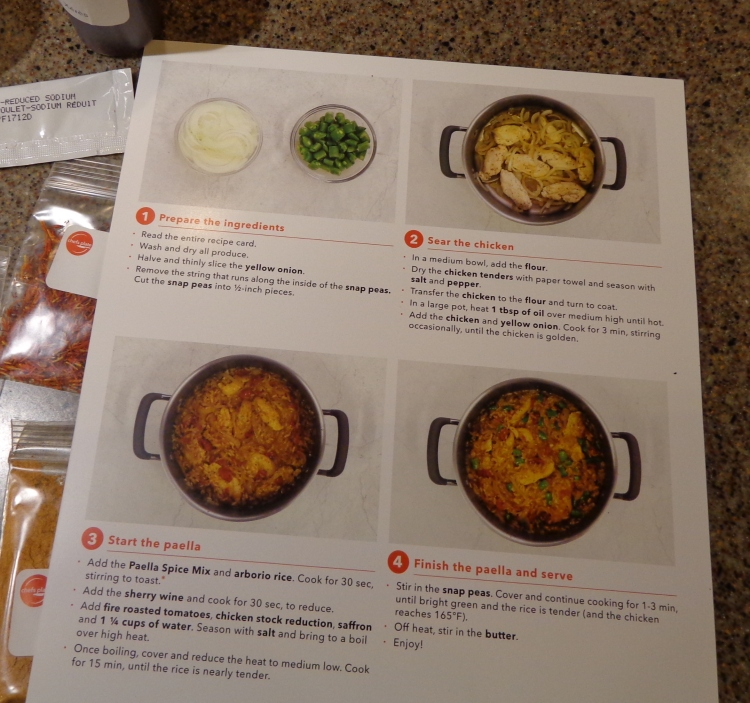 recipe card, back