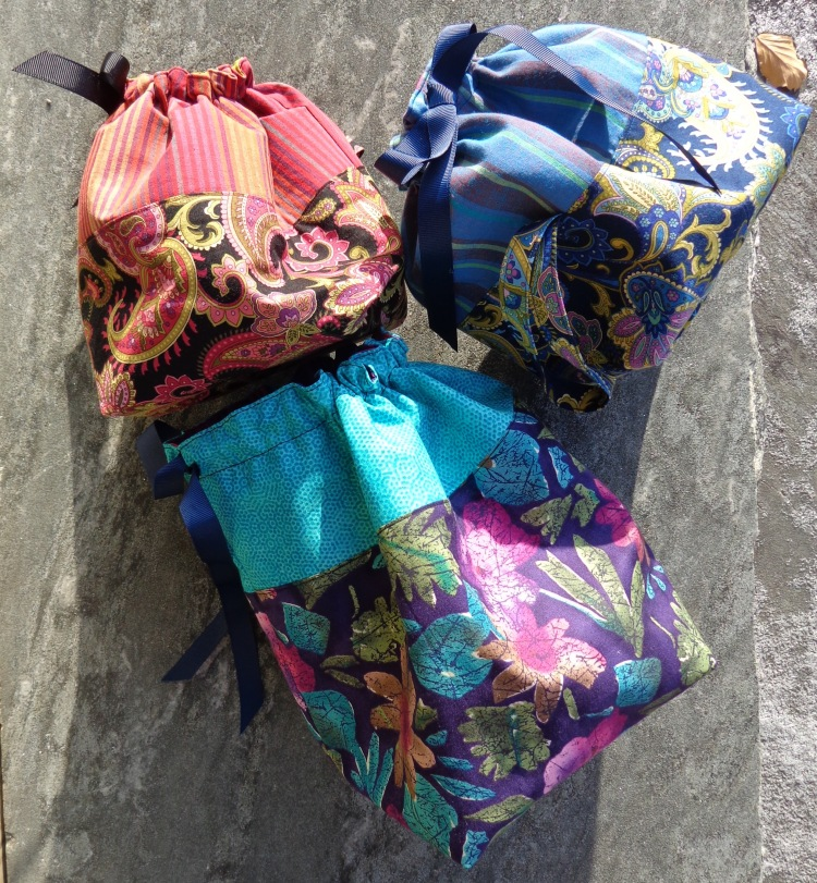 Knitting Project Bags made by Deborah Cooke