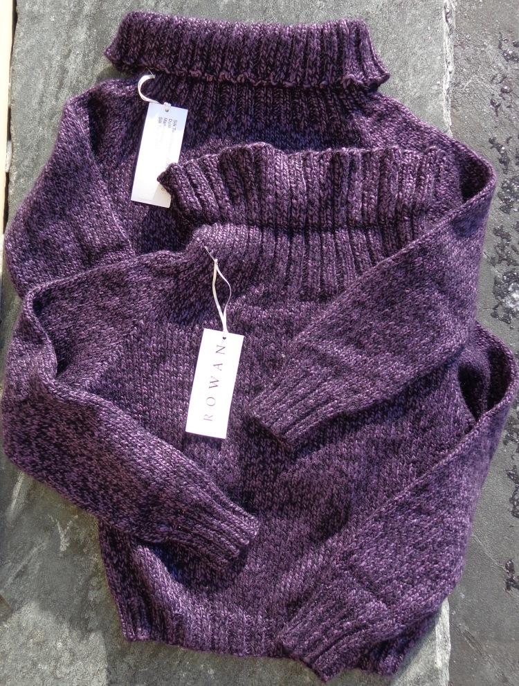 Silk Twist sample sweaters bought by Deborah Cooke