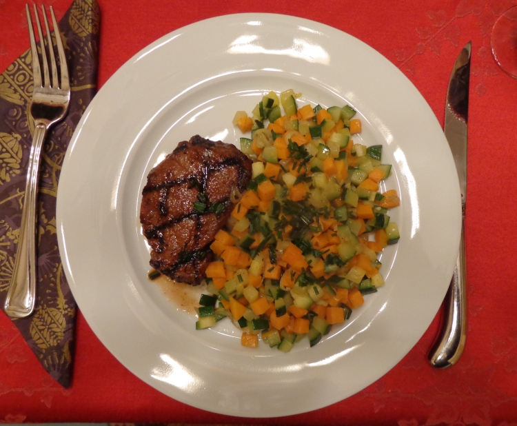 BBQ Steak and Vegetable Hash