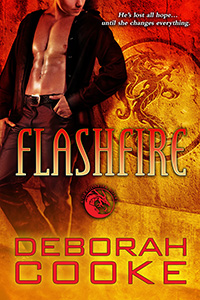 Flashfire, #7 of the Dragonfire Novels, a series of paranormal romances by Deborah Cooke