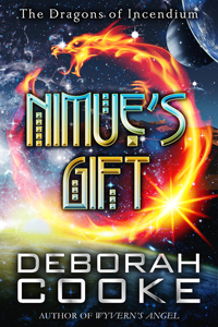 Nimue's Gift, #10 in the Dragons of Incendium series of paranormal romances by Deborah Cooke