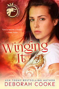 Winging It, book #2 of the Dragon Diaries paranormal YA trilogy by Deborah Cooke