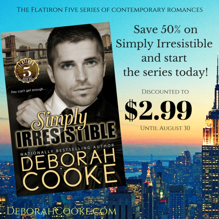 Simply Irresistible, August 2018 half price sale