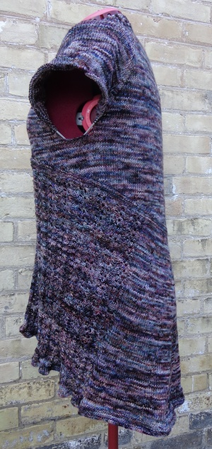 Juicy Gloss cardigan knit by Deborah Cooke in Koigu KPPPM