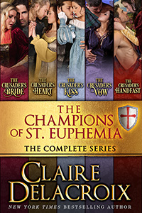 The Champions of St. Euphemia boxed set including the entire medieval romance series by Claire Delacroix