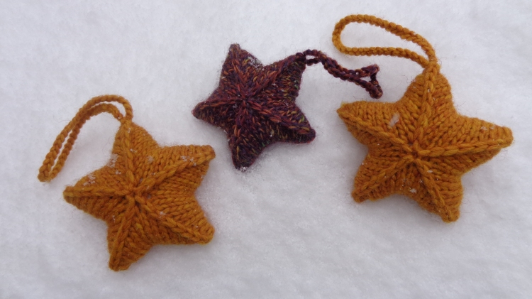 Twinkle Stars knit by Deborah Cooke