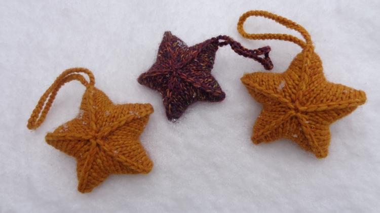 Twinkle Stars knit by Deborah Cooke
