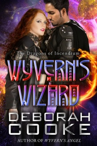 Wyvern's Wizard, book 11 of the Dragons of Incendium series of paranormal romances by Deborah Cooke