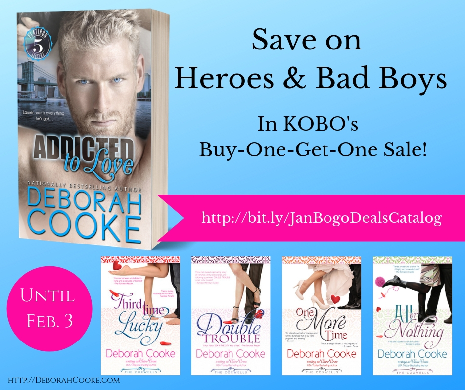 SAve on Heroes & Bad Boys in KOBO's BOGO Sale!