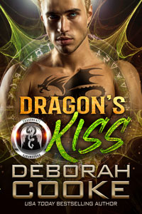 Dragon's Kiss, book two of the DragonFate novels, a series of paranormal romances by Deborah Cooke