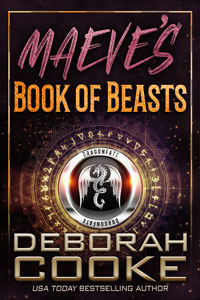 Maeve's Book of Beasts, book 1 of the DragonFate novels, a series of paranormal romances by Deborah Cooke
