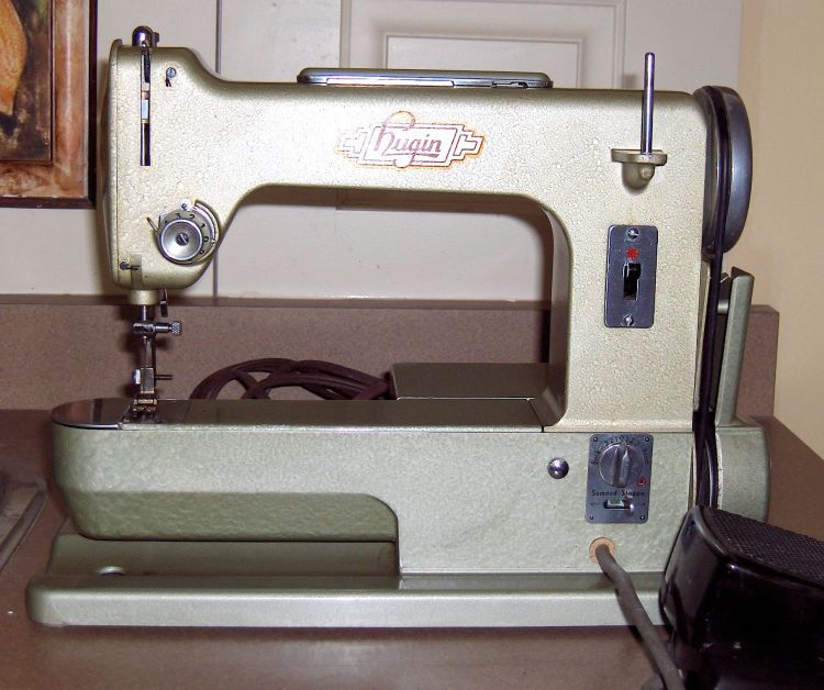 Hugin sewing machine