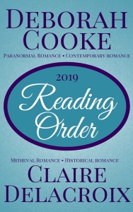 Reading Guide for Deborah Cooke and Claire Delacroix Books 2019 Edition