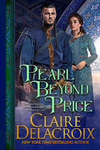 Pearl Beyond Price, book two of the Unicorn Trilogy of medieval romances by Claire Delacroix