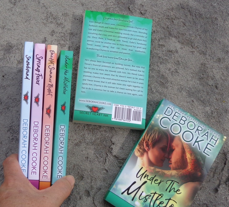 The Secret Heart Ink series of contemporary romances by Deborah Cooke in print