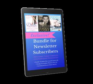 3-book Exclusive bonus for subscribers to Deborah Cooke's Heroes and Happy Endings newsletter