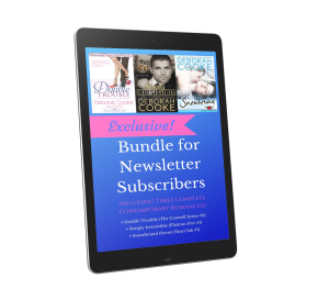 3-book Exclusive bonus for subscribers to Deborah Cooke's Heroes and Happy Endings newsletter