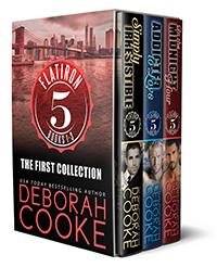 Flatiron Five: The First Collection, a digital bundle of the first three contemporary romances and romantic comedies in the Flatiron Five series by Deborah Cooke