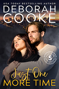 Just One More Time, book two of the Flatiron Five Fitness series of contemporary romances by Deborah Cooke