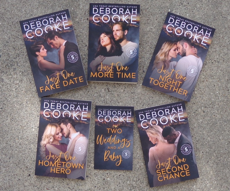 The Flatiron Five Fitness series of contemporary romances by Deborah Cooke, in trade paperback