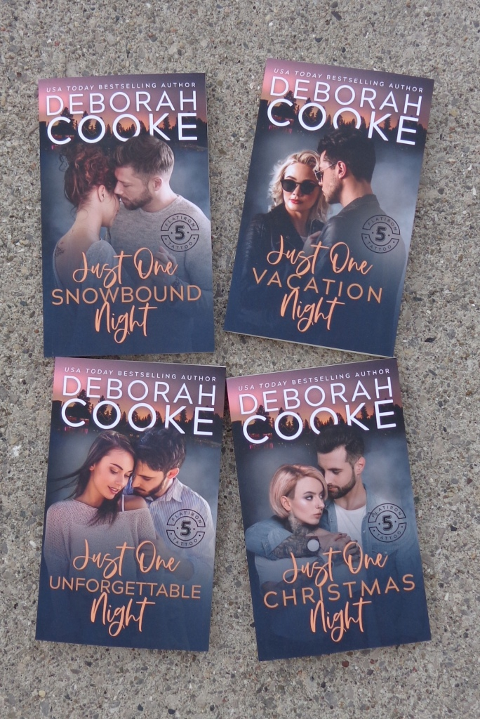 Flatiron Five Tattoo contemporary romances by Deborah Cooke inmass market editions