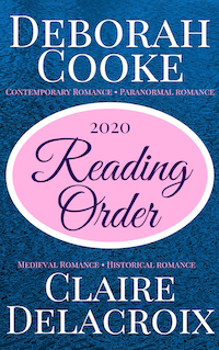 Reading Guide for Deborah Cooke and Claire Delacroix books, 2020 edition