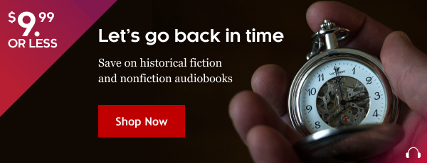 Historical audiobook sale at KOBO US store