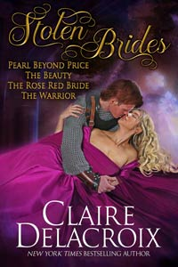 Stolen Brides, a digital boxed set featuring four full-length medieval romances by Claire Delacroix