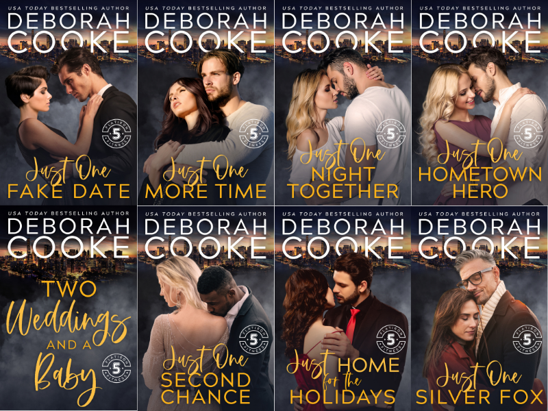The Flatiron Five Fitness series of contemporary romances by Deborah Cooke